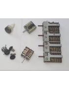 Schalter | Knebel | Schaltblöcke | Energieregler | Siebentaktschalter